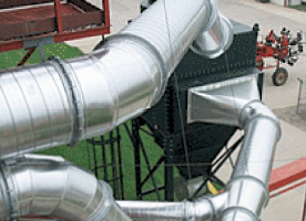 Spiral Pipe Installation Slip Joints And Flanges