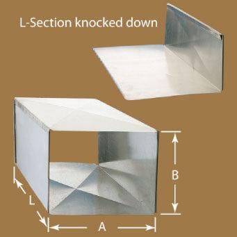 Low Pressure Rectangular Duct