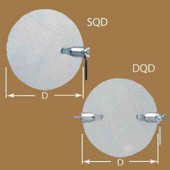 Low Pressure Quadrant Damper