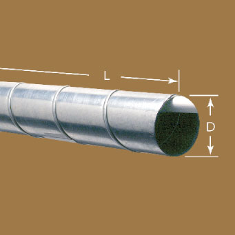 Low Pressure Spiral Pipe