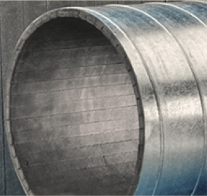 Spiral Manufacturing  Single Wall Insulated Spiral Pipe