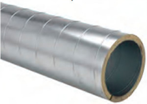 Single Wall Insulated Spiral Pipe