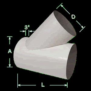 PVS Lateral Tees