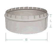 PVS Pipe Connectors Starting Collar