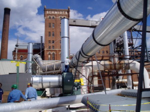 Industrial applications of spiral pipe