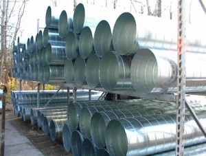 advantages of spiral pipe